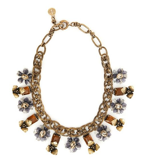 Tory Burch Multi-Floral Necklace - $695