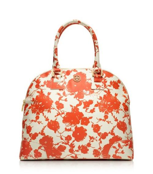 Tory Burch Printed Robinson Dome Satchel - $395