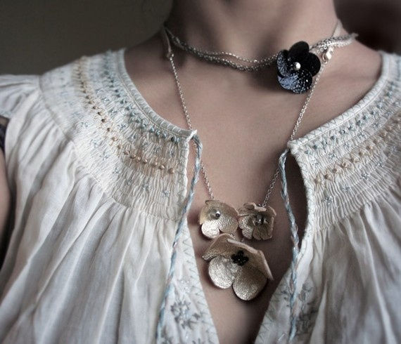 Troika Necklace by Babette Jewelry