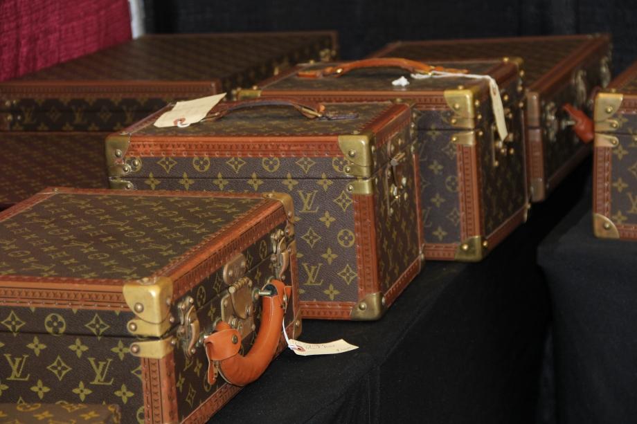 Antique LV Luggage 4
