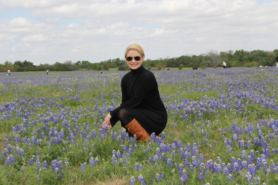 Claire in Bluebonnets 2