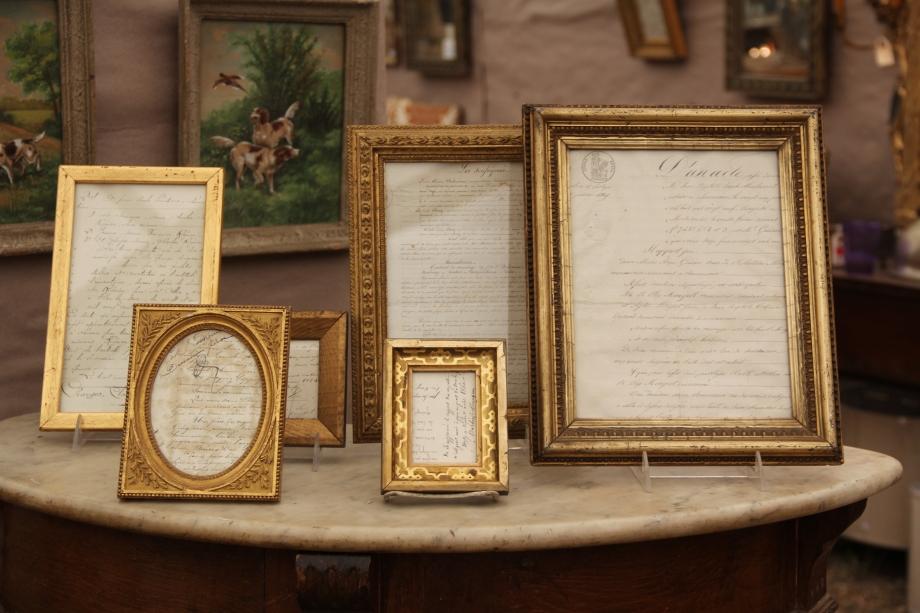 Gold Antique Frames