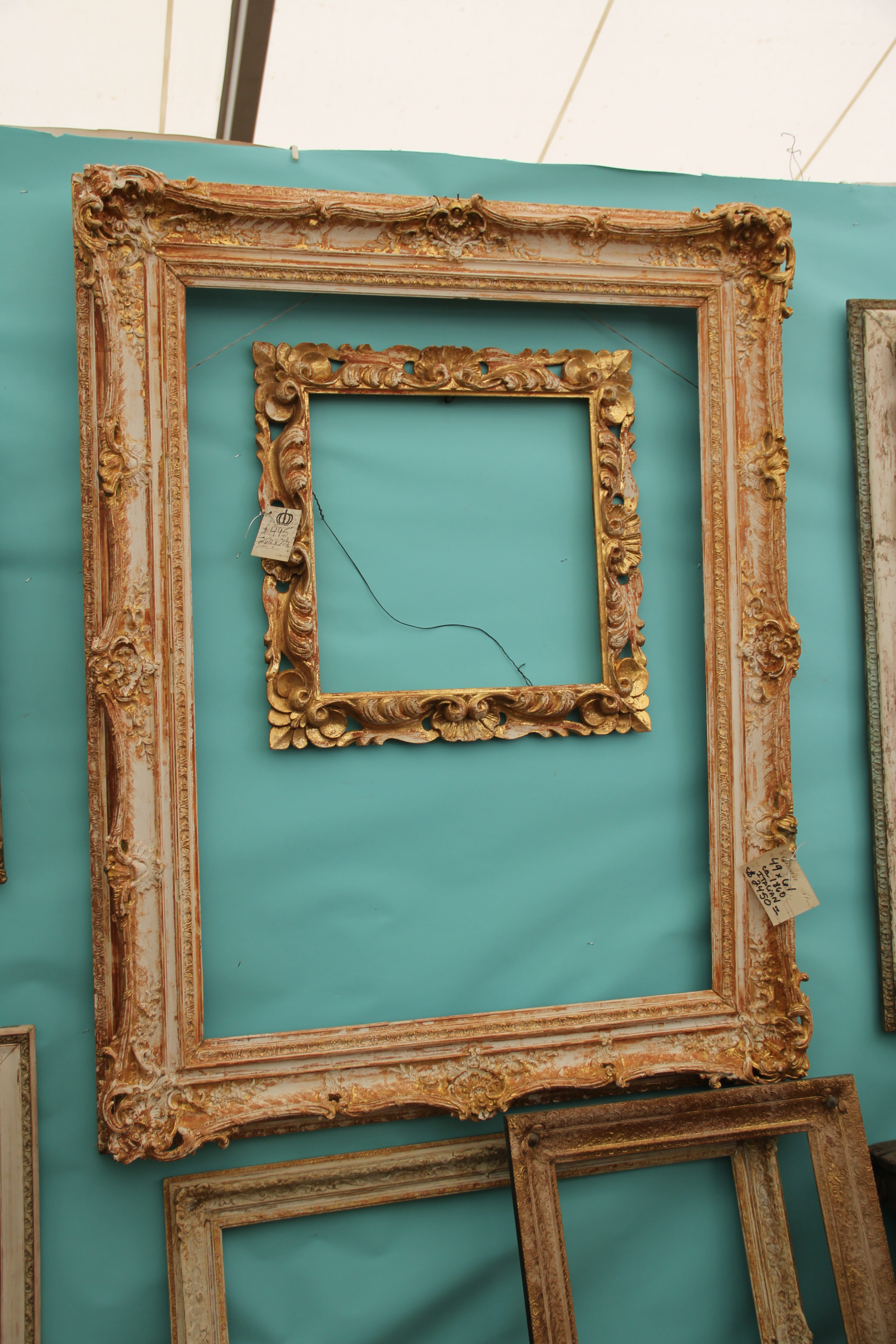 Round top antique market part deux the chic scribe inspiration board frames 2 jeuxipadfo Image collections