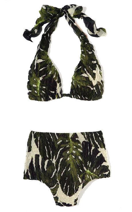 Adriana Degreas Hot Pants Silk Bikini - $470