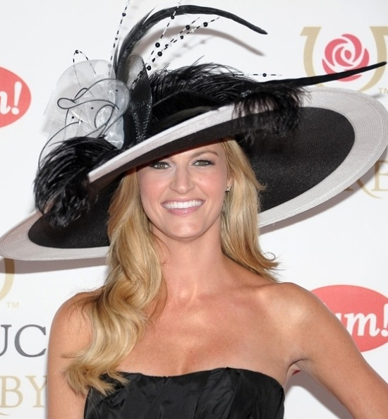 HAT - Erin Andrews Kentucky Derby Hat