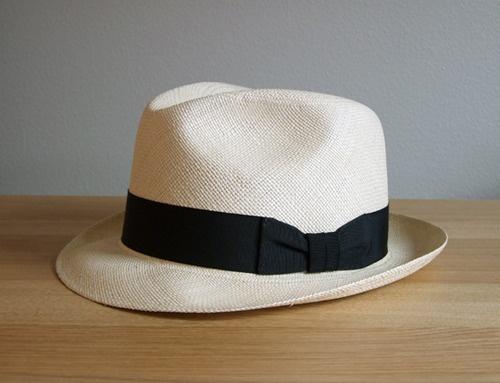 HAT - J Crew Panama Hat