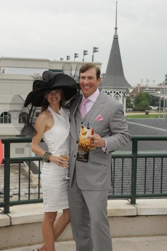 HAT - Kentucky Derby Hat - Black