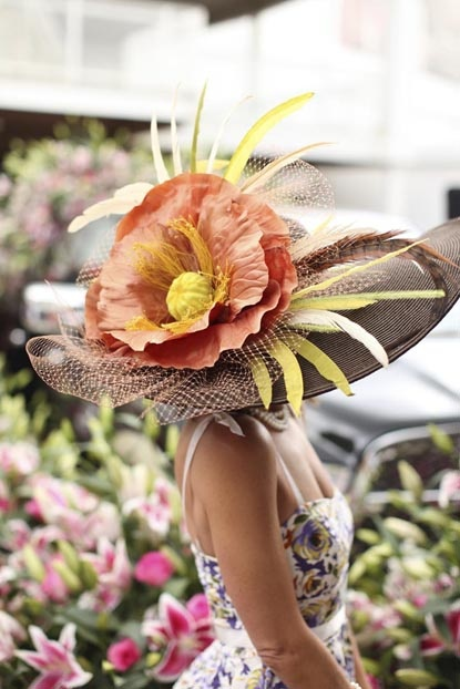 HAT - Kentucky Derby Hat - Bloom