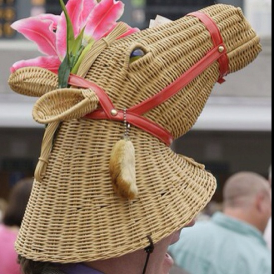 HAT - Kentucky Derby Hat - Horse