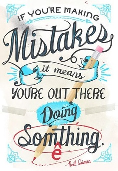 mistakes are OK