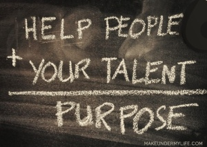Help People + Your Talent