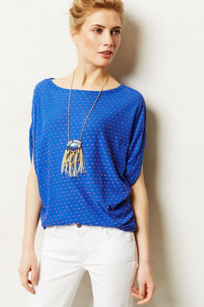 Anthro - Pop Dot Blouse - $228