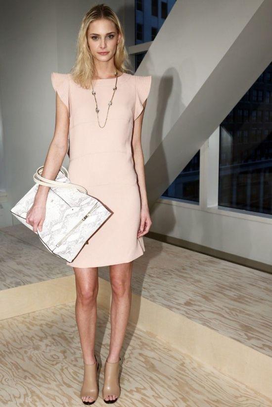 Ann Taylor Flutter Panel Dress - $149