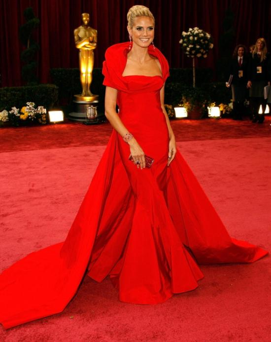Heidi Klum 2008 - John Galliano