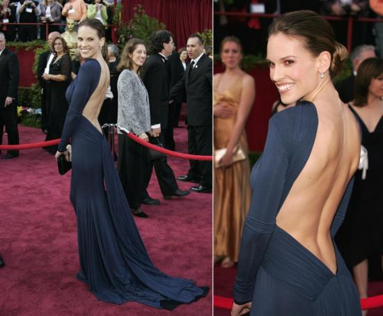 Hilary Swank 2005 - Guy Laroche