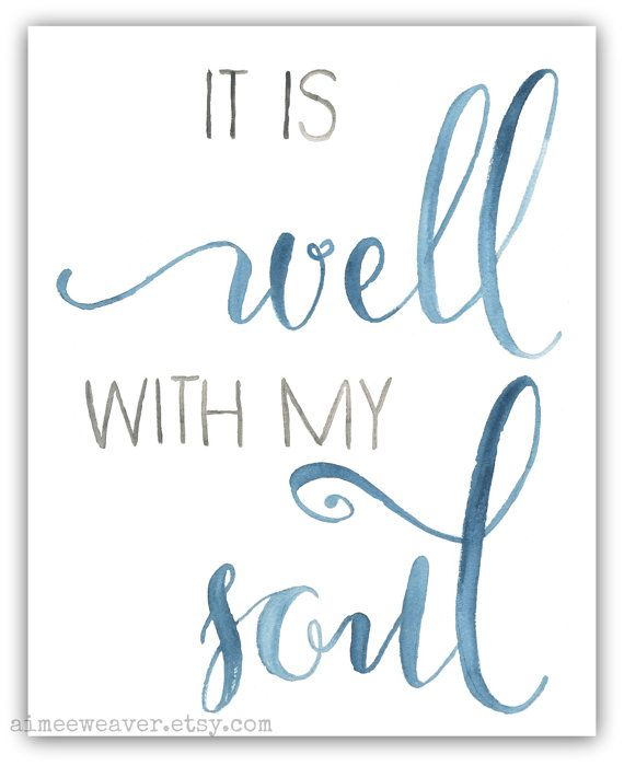 photo about It is Well With My Soul Printable referred to as Easter Concept: It Is Effectively With My Soul THE Stylish SCRIBE