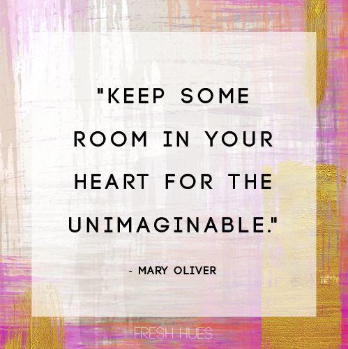 Keep Some Room