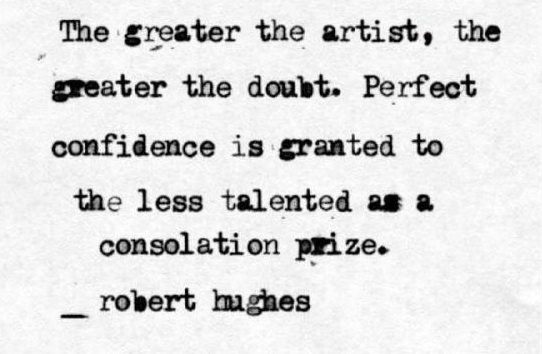 The Greater the Artist